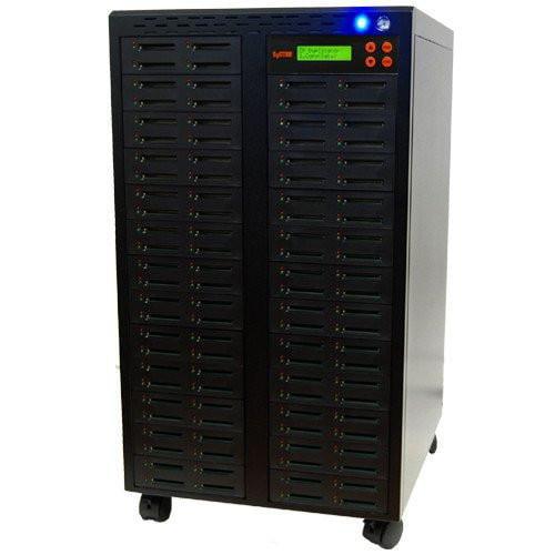 SySTOR 1:99 Multiple Compact Flash CF Memory Card Duplicator / Sanitizer