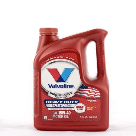 Valvoline maxlife high mileage 15w 40 heavy duty motor oil for How to get motor oil out of jeans