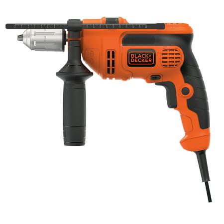 Black & Decker DR670 6.0 Amp 1/2-Inch Corded VSR Hammer Drill