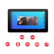 "Ematic 10"" 16GB Quad-Core Android 5.1 Bluetooth Tablet (EGQ223BL)"