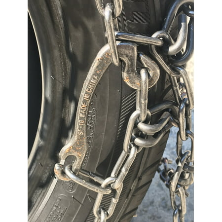 Snow Chains P235/75R17,  ALLOY Cam STUD Tire Chains w/ Rubber Tensioners - image 2 de 4