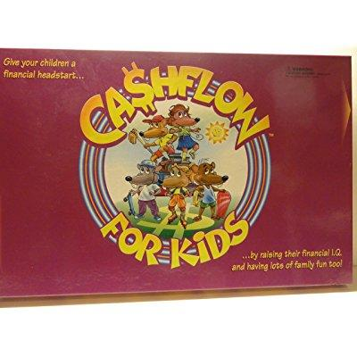 CASHFLOW for KIDS Board Game with Exclusive Bonus Message from Robert Kiyosaki by