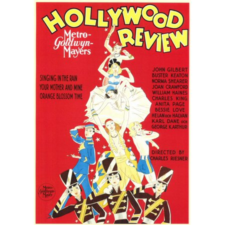 The Hollywood Review POSTER Movie Mini Promo