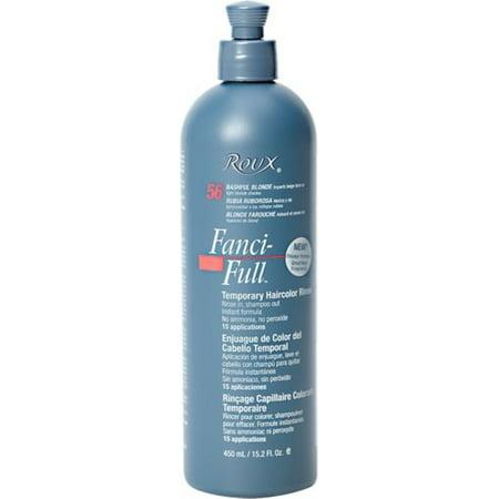 Roux Fanci Full Temporary Color Rinse 56 Bashful Blonde 152 Oz