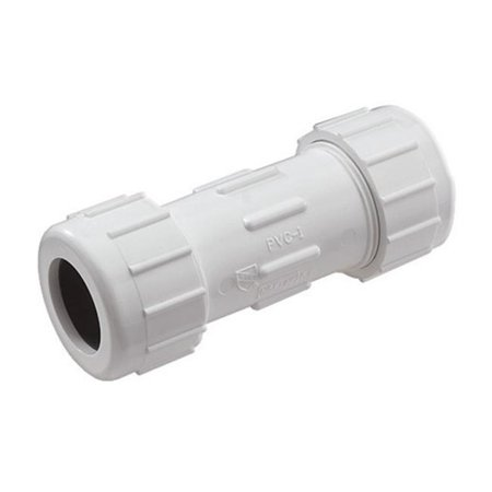 CPC-2500 Compression PVC Compression Coupling  Gray - 2.5 in. - image 1 de 1