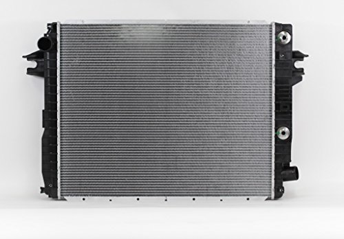 PRIMARY-Radiator Plastic Tank Aluminum Core Cooling Direct For//Fit 13490 13-16 RAM 2500 3500 6.7L Diesel Radiator