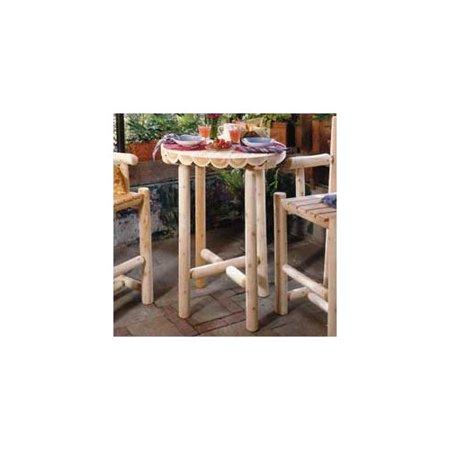 Rustic Natural Cedar Furniture Cedar Bistro Table