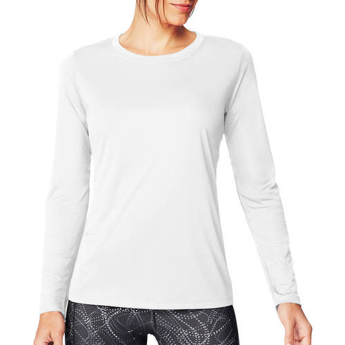 Hanes Sport Women's CoolDri Performance Long-Sleeve Tee by