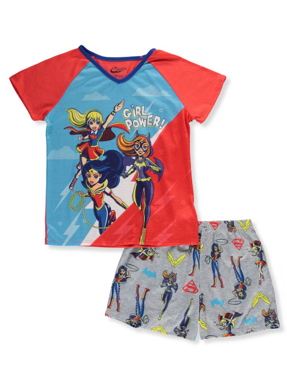 DC Super Hero Girls Short Pajamas Pjs