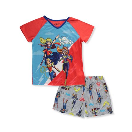 Toddler Girl Superhero (DC Superhero Girls' 2pc Pajama Short)