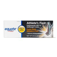 Equate Athlete's Foot Antifungal Cream, 2 oz