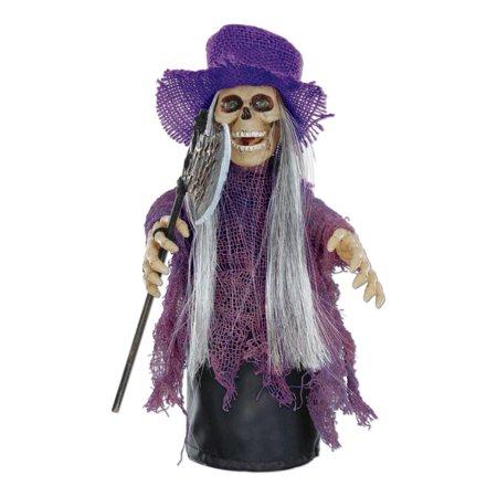 Pack of 6 Halloween Haunted Spinnin' and Screamin' Purple Hat Demon 10