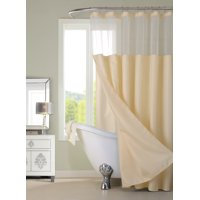 Product Image Dainty Home Complete Shower Curtain Set With Detachable Liner