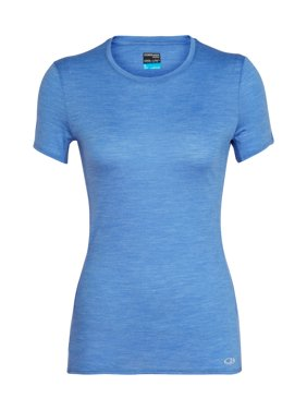 a32f063a4fe9af Product Image Icebreaker Women's Merino Cool-Lite Amplify Crewe T-Shirt  Cove Heather S