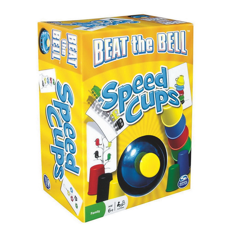 (Price/each)Spin Master Beat The Bell Speed Cups Game