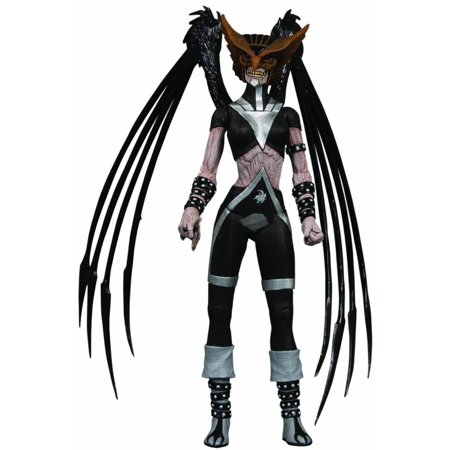 DC Green Lantern Blackest Night Series 6 Black Lantern Hawkgirl Action Figure (Hawkgirl And Green Lantern)