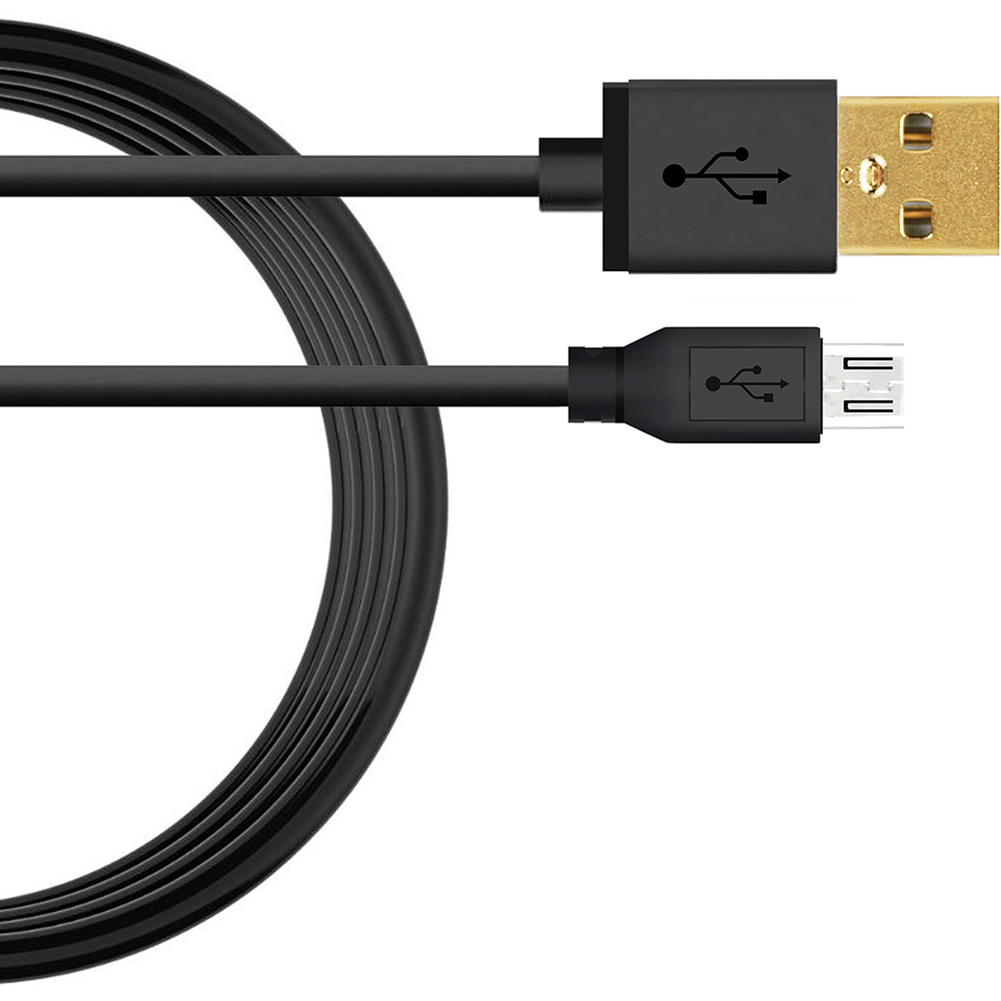 Hama microUSB Charge/Sync Cable, 3'