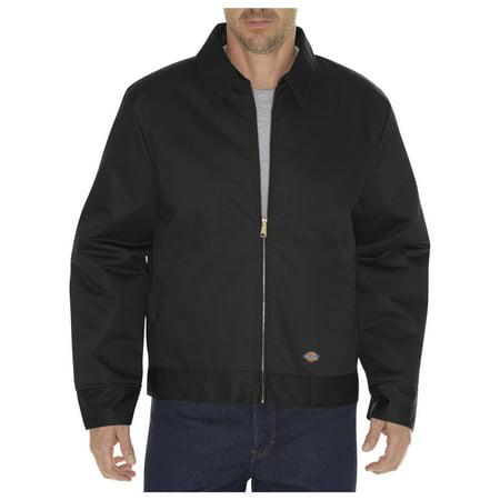 Dickies Mens Insulated Eisenhower Jacket, Black - S RG
