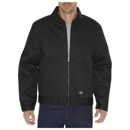 Dickies Mens Insulated Eisenhower Jacket, Black - XL LN