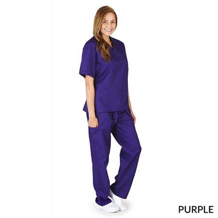 4c95cffadca M&M SCRUBS Women's Scrub Set Medical Scrub Top and Pants   Walmart ...