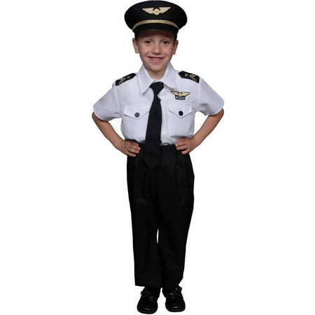 Pilot Boy Child Halloween Costume (Halloween Noite Das Bruxas)