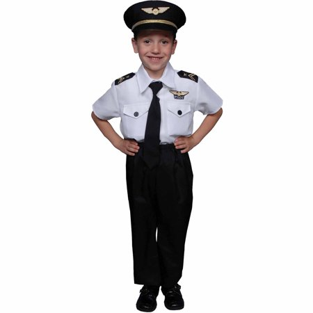 Pilot Boy Child Halloween Costume](Bomber Pilot Costume)