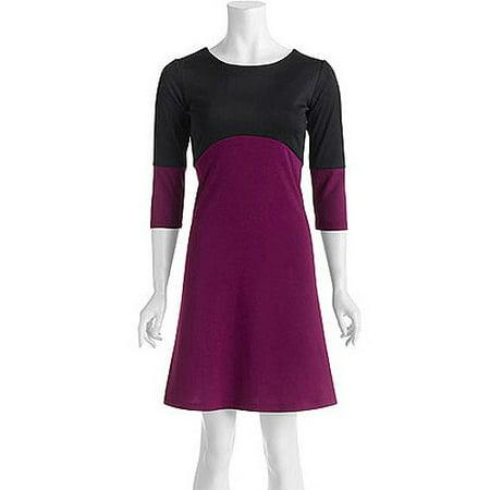 ONLINE - Stitch Women\'s Plus-Size Colorblock Ponte Knit Shift Dress ...