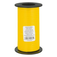 Berwick Curling Ribbon Yellow - 350 Yards, 350.0 YARDS