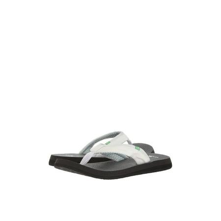 Sanuk Yoga Mat 2 Women's Casual Flip Flop Sandals 1091169 (Sanuk Yoga Mat Flip Flops Womens)