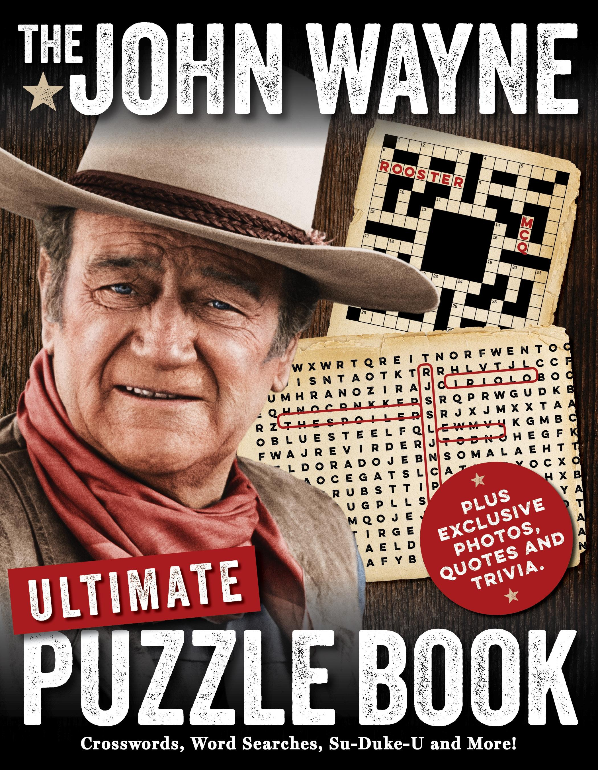 The John Wayne Ultimate Puzzle Book Walmart Com Walmart Com