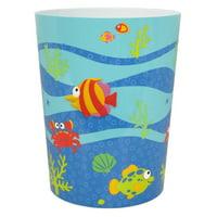 Fish Tails Wastebasket
