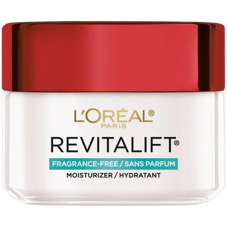 L'Oreal Paris Revitalift Anti-Aging Face & Neck Cream Fragrance Free, 1.7 oz.
