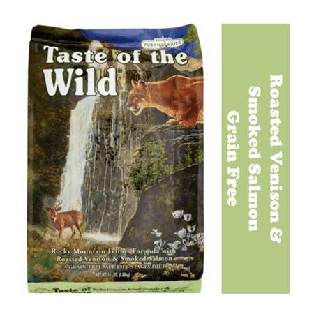 Taste of the Wild Rocky Mountain Grain-Free Dry Cat Food, 14 (Taste Of The Wild Dry Cat Food Reviews)
