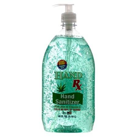New 327603 Hand Sanitizer Wpump 40Z Aloevitamin E Hand Rx (6-Pack) Pharmacy Cheap Wholesale Discount Bulk Health And Beauty Pharmacy X Others