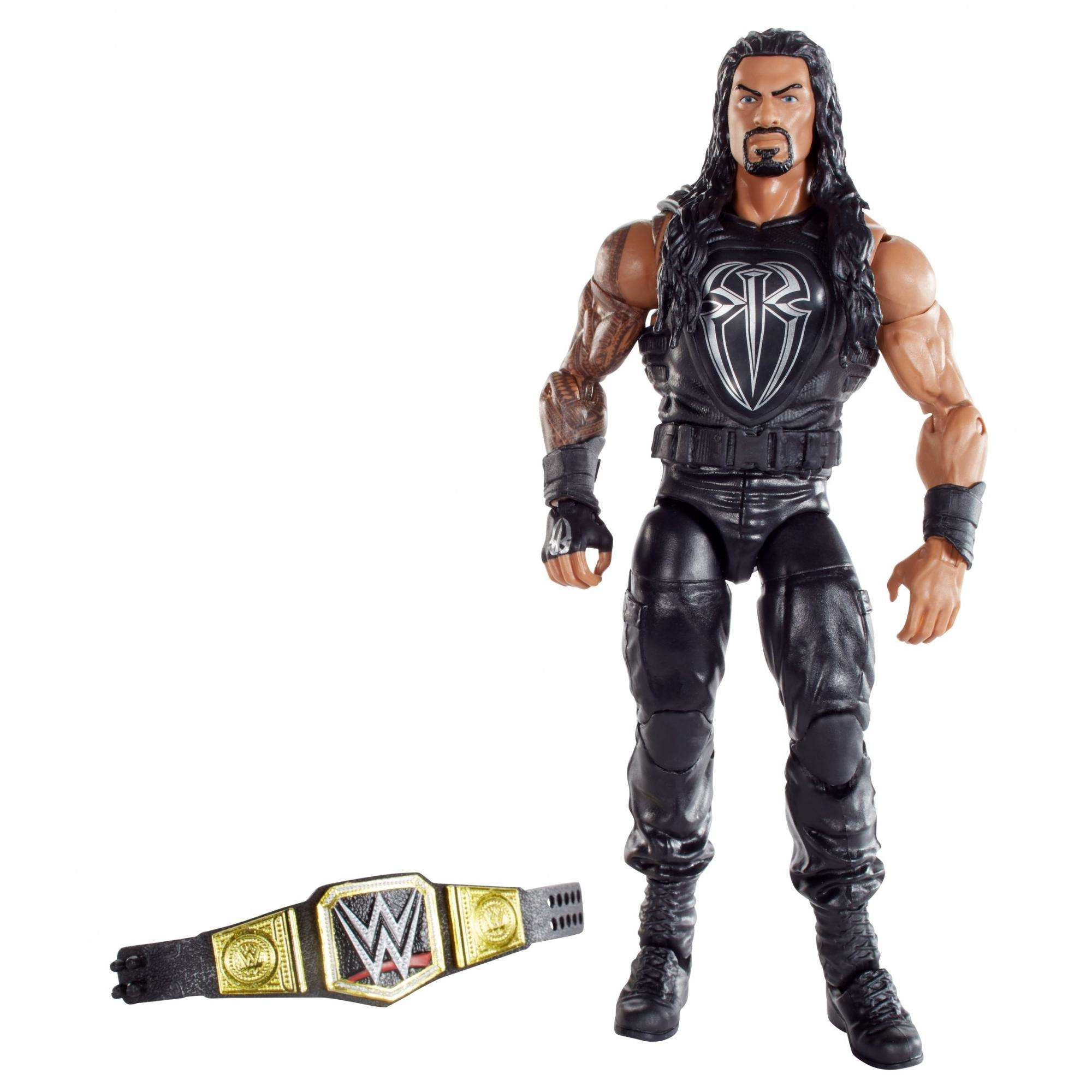 WWE Elite Roman Reigns Figure by Mattel