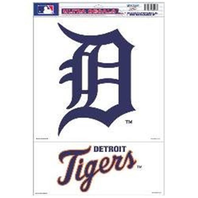Wincraft 3208514445 11 x 17 in. Detroit Tigers Ultra Decal Sheet - image 1 de 1