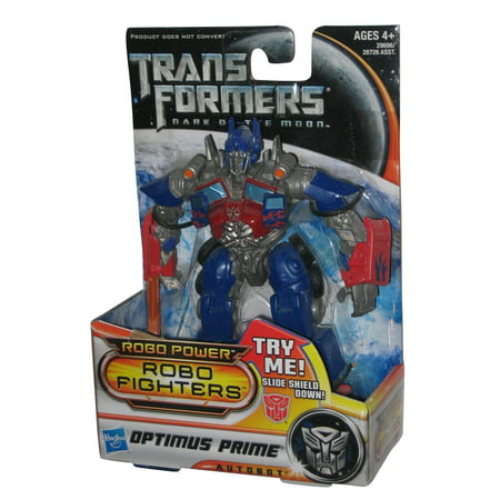Transformers Dark of The Moon Robo Power Fighters Optimus Prime Toy