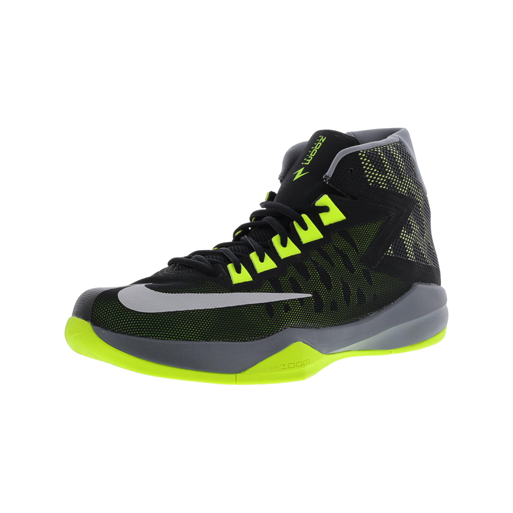 29bd9663ef67 Nike Men s Zoom Devosion Black   Reflect Silver - Cool Grey High-Top  Basketball Shoe 10.5M