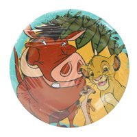 The Lion King Paper Dessert Plates, 7in, 8ct