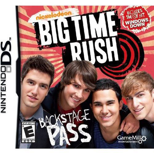 Big Time Rush, Game Mill, Nintendo DS, - Big Time Rush Halloween Big Night