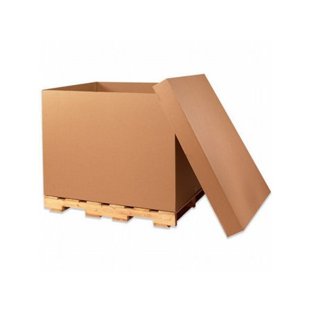 Gaylord Box - Box Packaging Gaylord Double Wall Cargo Bottom, 275#, 48