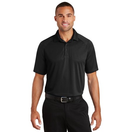 Port Authority® Crossover Raglan Polo. K575 Black 2Xl - image 1 of 1