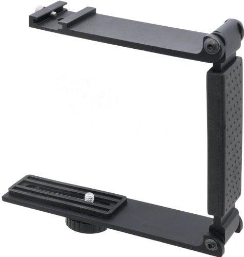 High Quality Aluminum Mini Folding Bracket For Panasonic HDC-TM90(K) (Accommodates Microphones Or Lights)