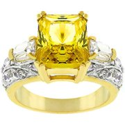 Sunrise Wholesale J3205 14K Gold Bonded Yellow Fashion Ring - Size 05