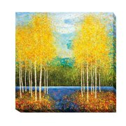 Artistic Home Gallery 'Inlet Grove' by Melissa Graves-Brown Painting Print on Wrapped Canvas