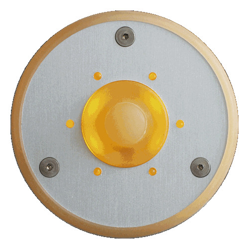 Spore Round LED Doorbell Button