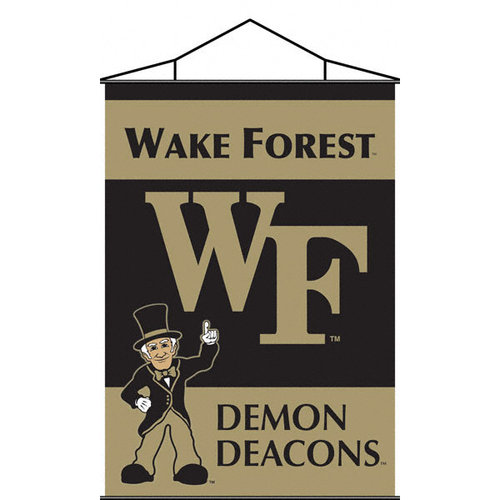 NCAA - Wake Forest Demon Deacons 28x40 Indoor Banner Scroll