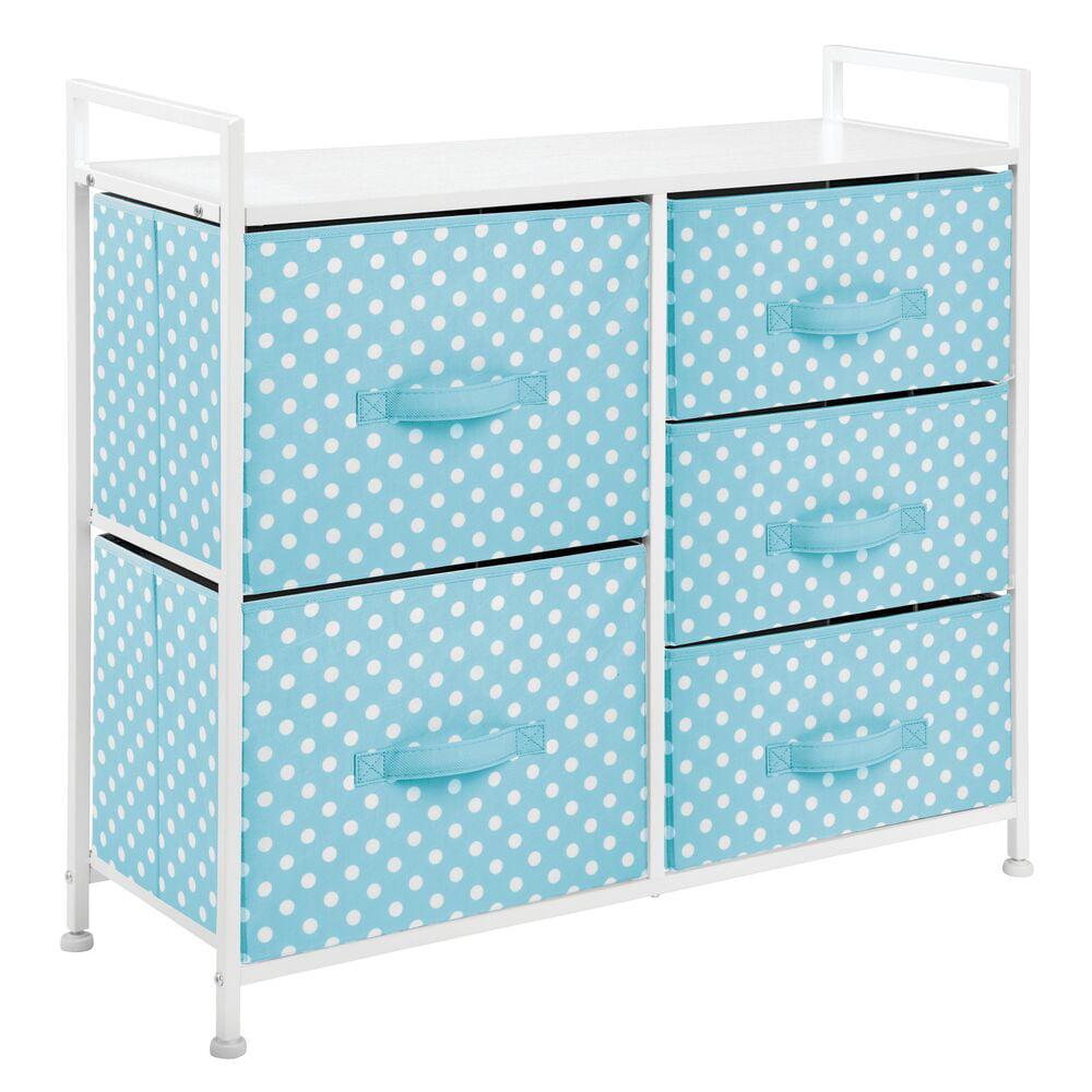 mDesign Storage Dresser Furniture Unit - Tall Baby and Kid