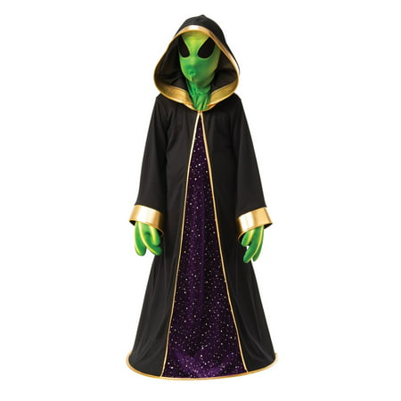Halloween Alien Child Costume (Children's Alien Costume Uk)