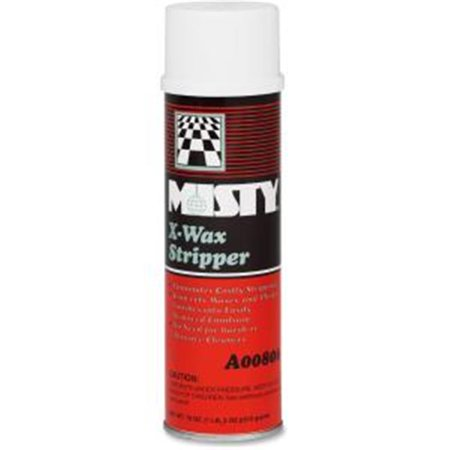 Misty 1033962 18 oz Aerosol Can X-Wax Stripper Misty X-wax Stripper